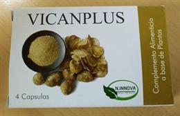 Sanidad prohíbe la comercialización y retira todas las unidades del producto 'VICANPLUS' cápsulas