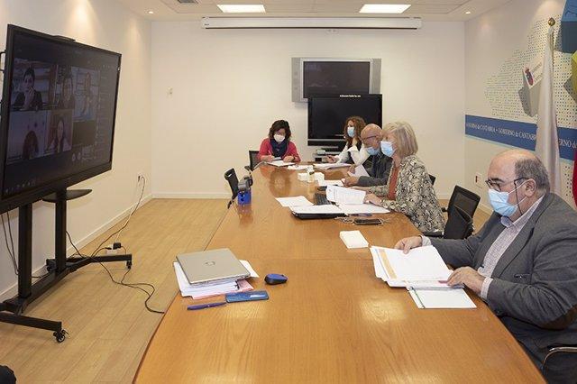 Reunión telemática de la Mesa Sectorial de Educación