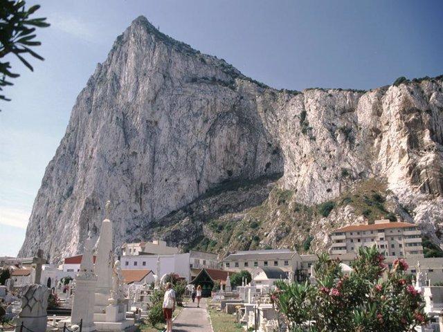 Archivo - Peñón de Gibraltar