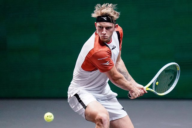 Alejandro Davidovich Fokina of Spain during the ABN AMRO World Tennis Tournament 2021, ATP 500 tournament on March 4, 2021 at the Rotterdam Ahoy in Rotterdam, Netherlands - Photo Henk Seppen / Orange Pictures / DPPI