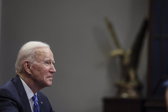 El presiente de Estados Unidos, Joe Biden, en la Casa Blanca