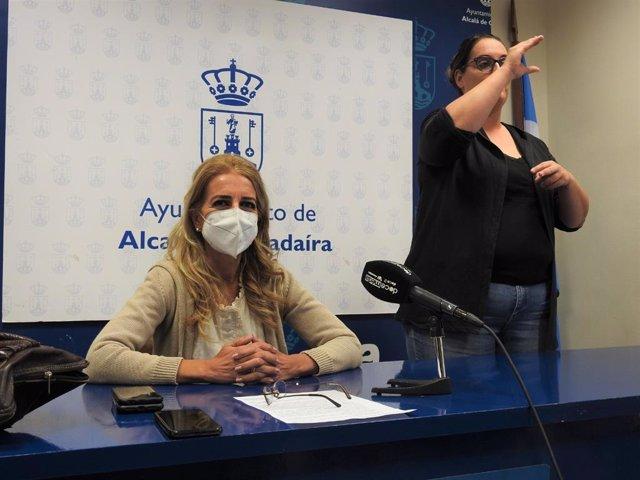 La delegada de Accesibilidad del Ayuntamiento de Alcalá de Guadaíra, María José Morilla (Cs).