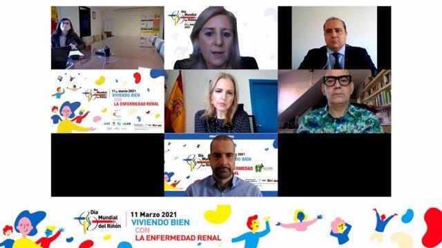 Pilar Aparicio,  Patricia de Sequera, Daniel Gallego, Beatriz Domínguez-Gil y Juan Francisco Pulido.