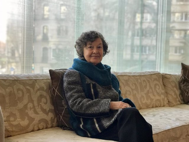 Archivo - L'escriptora Maria Barbal (Recurs)