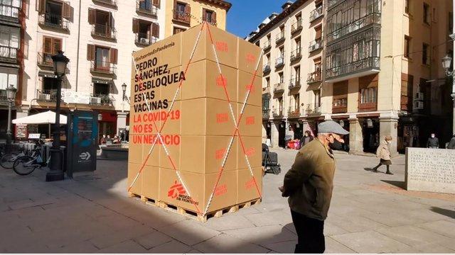 Archivo - MSF pide al Gobierno español que no obstaculice la suspensión temporal de patentes COVID-19 y que apoye el inicio de las negociaciones formales en la OMC para incrementar la producción de vacunas