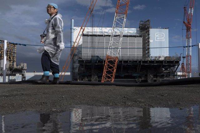 Imagen de archivo de la central nuclear de Daiichi en Fukushima.