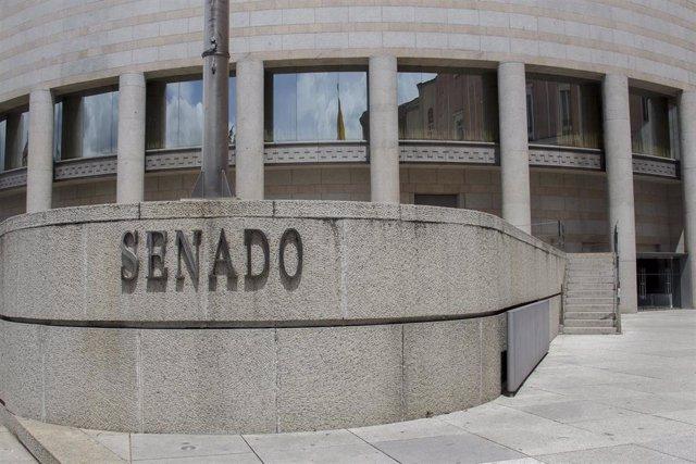 Archivo - Fachada del Senado de España