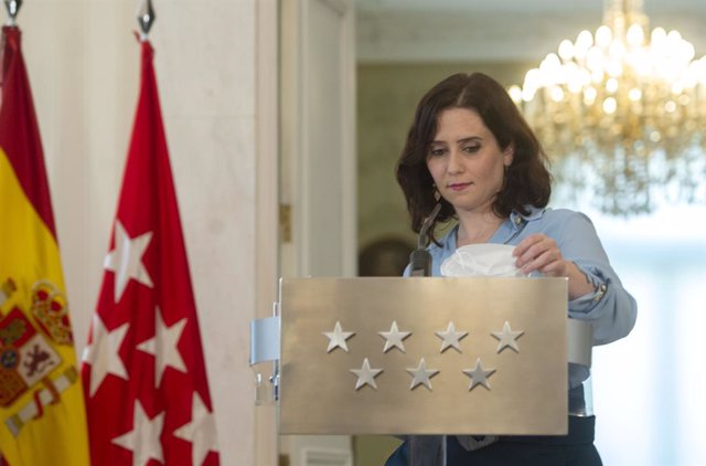La presidenta de la Comunitat de Madrid, Isabel Díaz Ayuso.