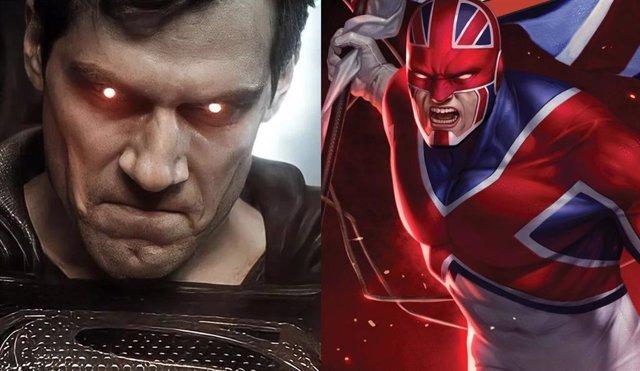 Marvel quiere a Henry Cavill como Capitán Britania