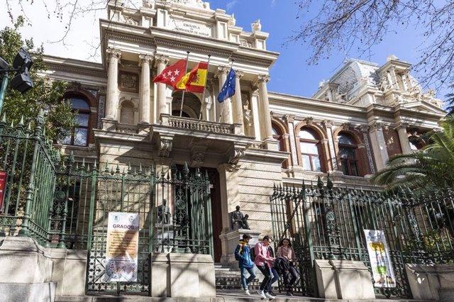 Edificio Histórico de la Escuela de Minas y Energía de Madrid
