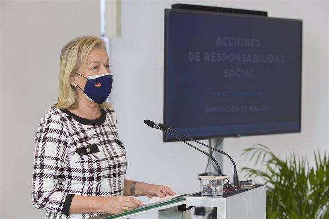 María Francisca Caracuel, vicepresidenta tercera de la Diputación de Málaga