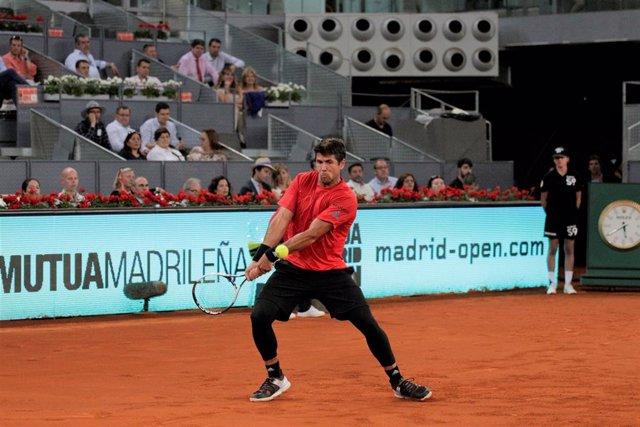 Archivo - Verdasco en el Mutua Madrid Open