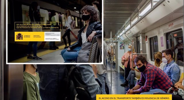 Campaña contra el acoso machista en el transporte