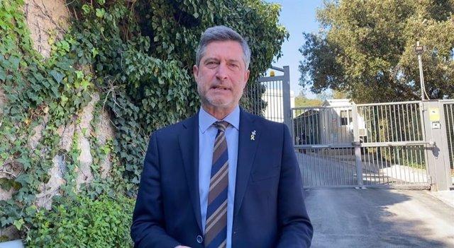 El regidor del grup municipal de Junts a Barcelona Jordi Martí.