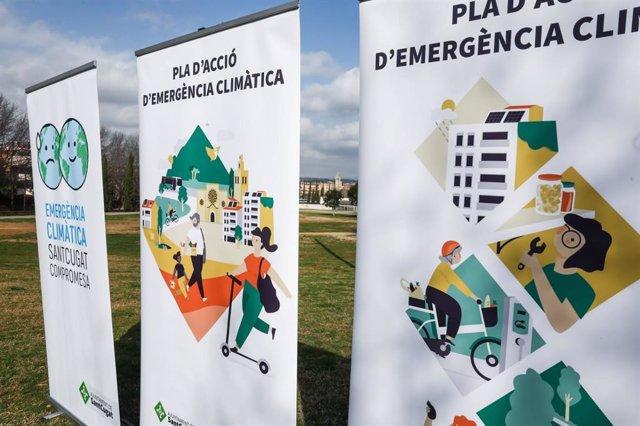 Sant Cugat (Barcelona) aprova el seu full de ruta contra el canvi climàtic.