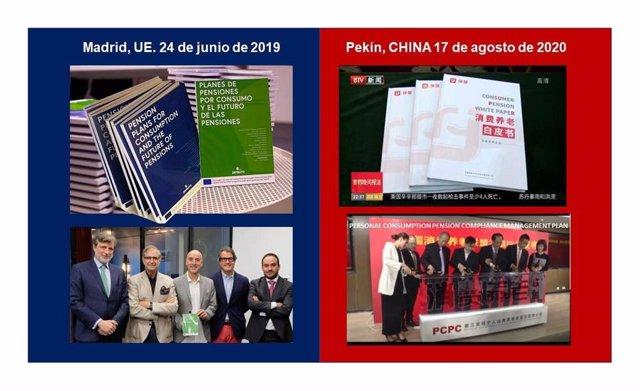 El libro blanco de las Pensiones por consumo en España y en China