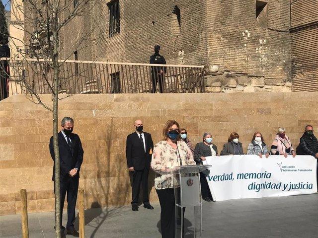 Acto de homenaje el Día Europeo de las Víctmas del Terrorismo