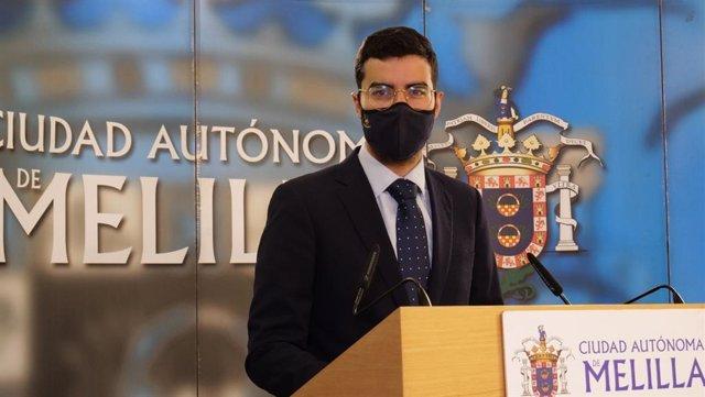Mohamed Mohand anunciado la puesta en marcha del Cheque Covid-19 en Melilla
