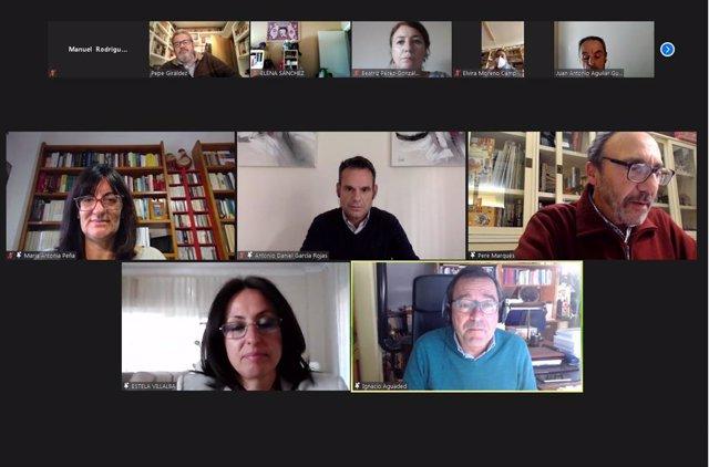 Encuentro virtual de Centros Innovadores.