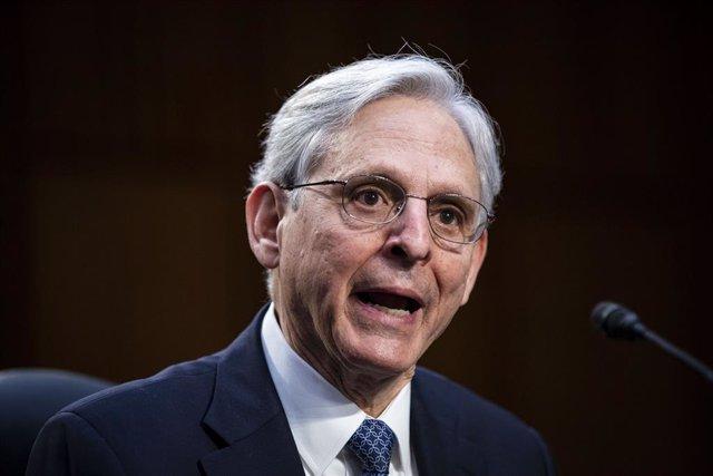 El fiscal general de Estados Unidos, Merrick Garland
