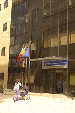 Archivo - Edificio del Gobierno del Principado de Asturias