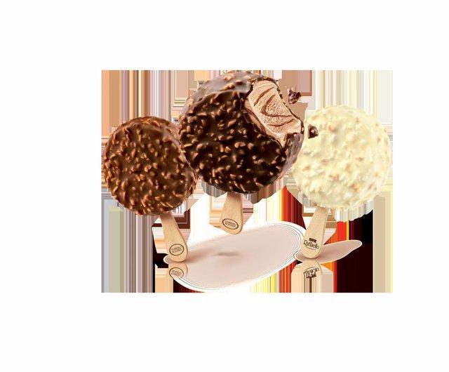 Nuevos helados de Ferrero