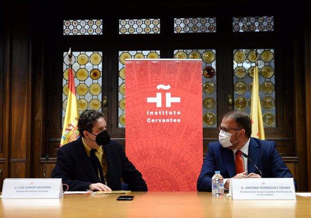 Nota De Prensa Rodríguez Osuna Y El Instituto Cervantes