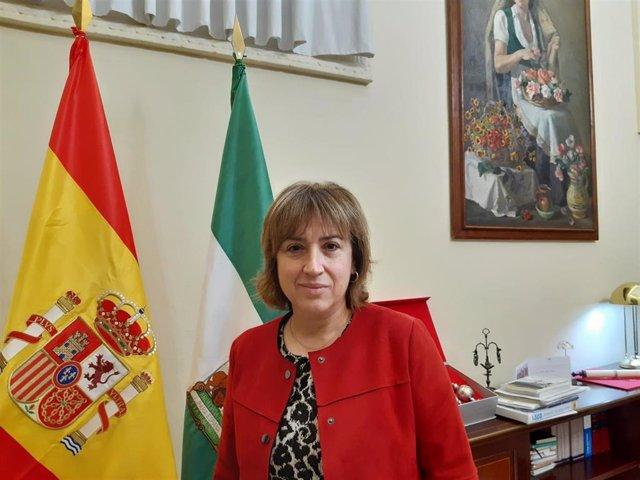 Archivo - La delegada del Gobierno en Andalucía, Sandra García. Imagen de archivo.