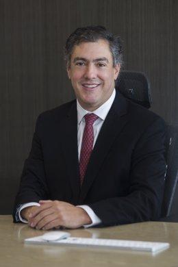 Archivo - El presidente de Grupo Energía Bogotá, Juan Ricardo Ortega
