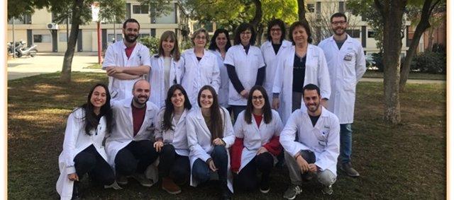 U737 CIBERER que lidera Antònia Ribes en el Hospital Clínic de Barcelona.