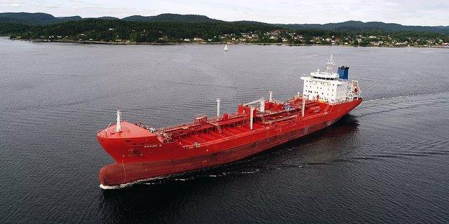 Vaixell de càrrega Davide B. , segrestat al golf de Guinea.