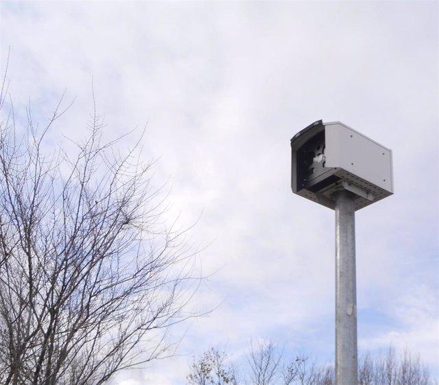 Archivo - Un radar fijo, en una imagen de archivo.