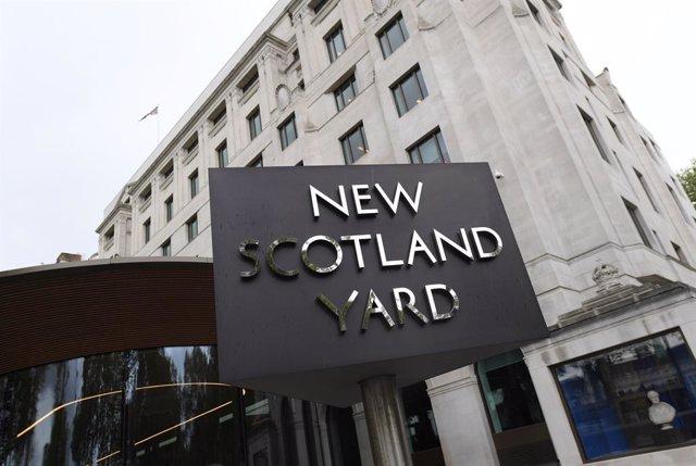 Archivo - Sede de Scotland Yard