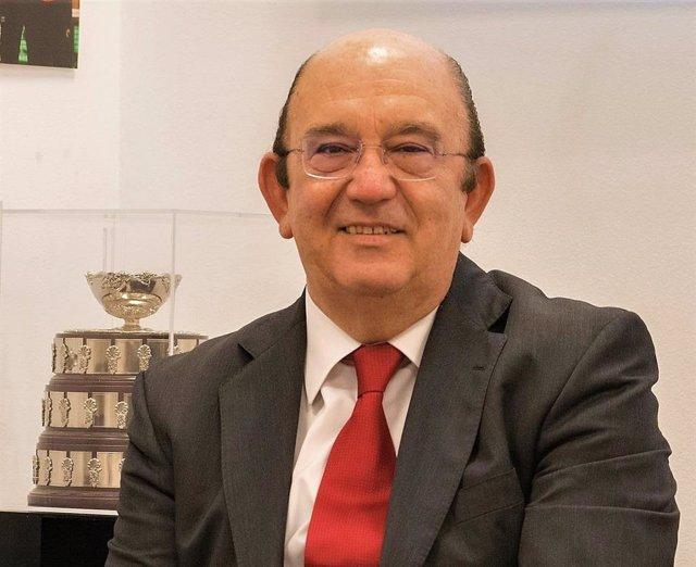 Archivo - Miguel Díaz Román, reelegido presidente de la Real Federación Española de Tenis