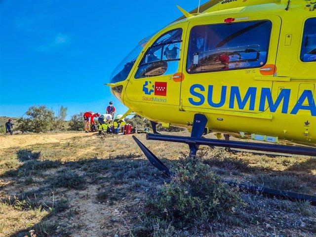 Herido un hombre de 51 años tras caer por una ladera en el Risco de los Claveles