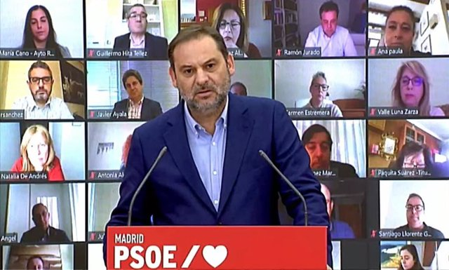 El secretario de Organización del PSOE y ministro de Transportes, Movilidad y Agenda Urbana, José Luis Ábalos
