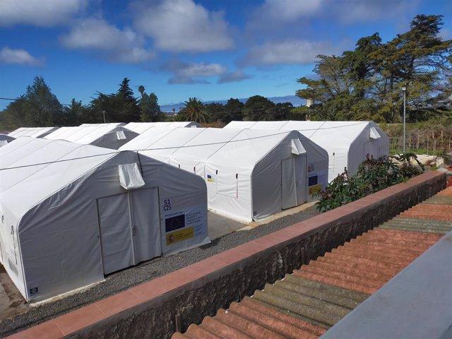 Campamento de Las Raíces (Tenerife)