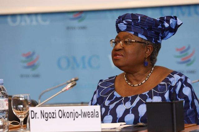 Archivo - La directora general de la Organización Internacional del Comercio (OMC), Ngozi Okonjo-Iweala