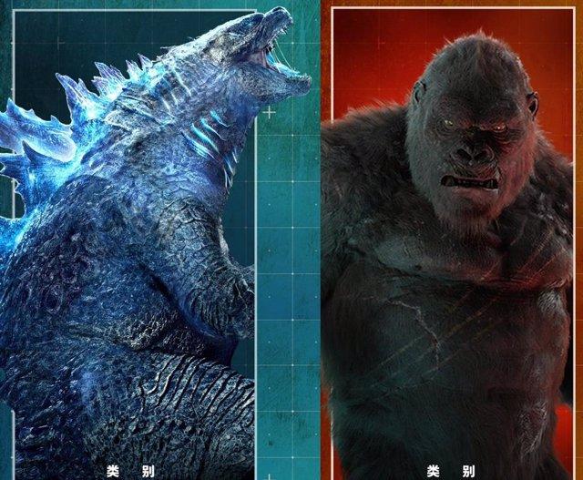 Revelada la verdadera altura de los monstruos de Godzilla vs. Kong