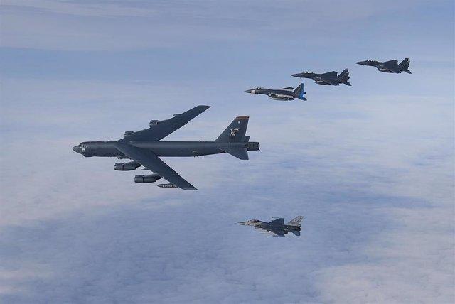 Archivo - Imagen de archivo de las Fuerzas Aéreas estadounidenses.