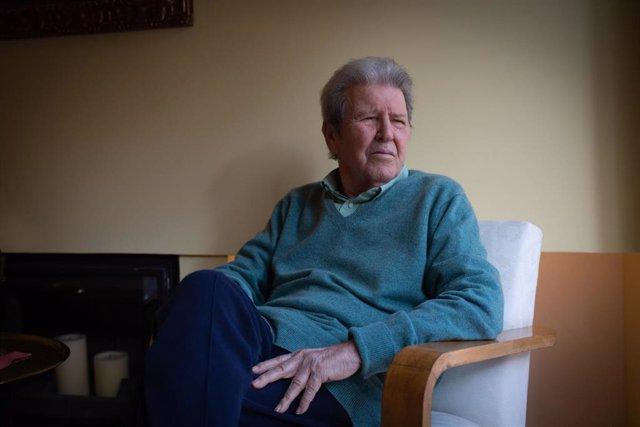 El editor y fundador de Anagrama Jorge Herralde
