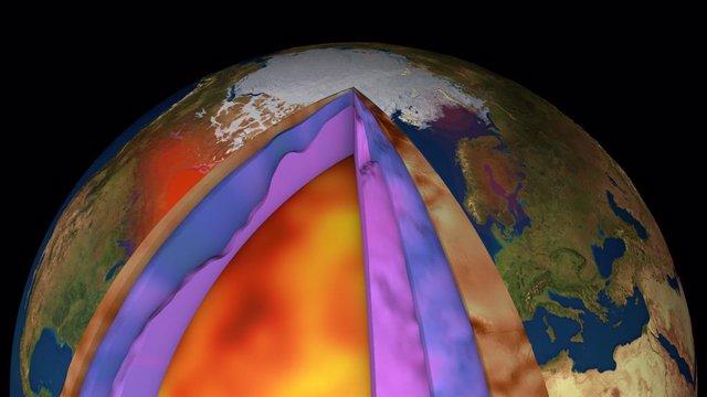 Nuevo modelo preciso de la listofera terrestre con datos de gravedad tomados por satélite