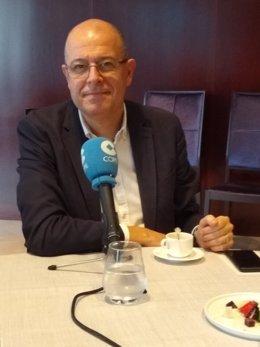 Archivo - El diputat del PSC al Congrés José Zaragoza (Arxiu)