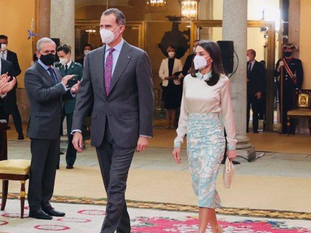 Los Reyes han presidido la entrega de las Acreditaciones de los Embajadores Honorarios Marca España