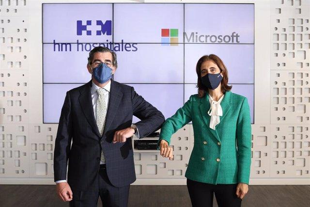 HM Hospitales y Microsoft firman una alianza estratégica para avanzar en la ciencia del dato en salud