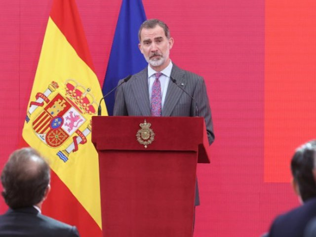 El Rey Felipe ha pronunciado un discurso con motivo de la entrega de las Acreditaciones a los Embajadores Honorarios de la Marca España