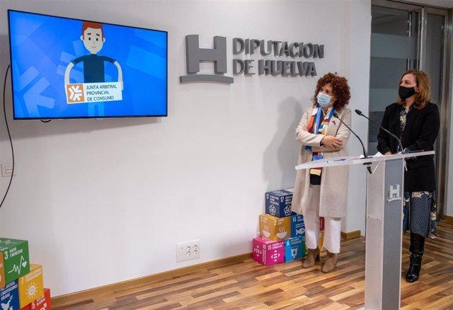 Presentación de la nueva Unidad de Consumo de la Diputación de Huelva.