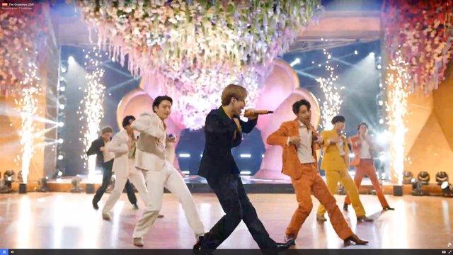 Grammy 2021: Así fue la apoteósica actuación de BTS con su éxito Dynamite