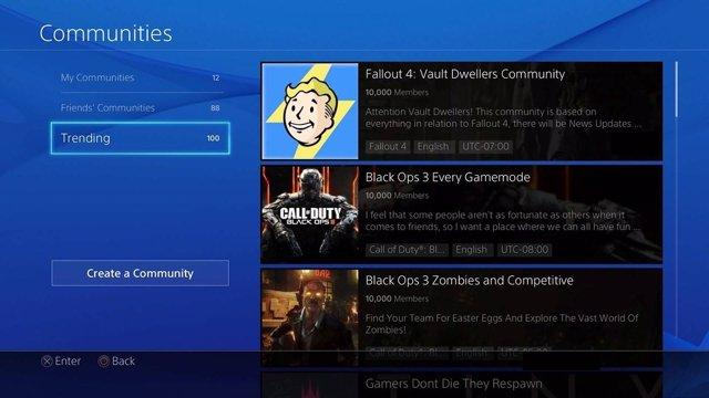 Comunidades de PlayStation