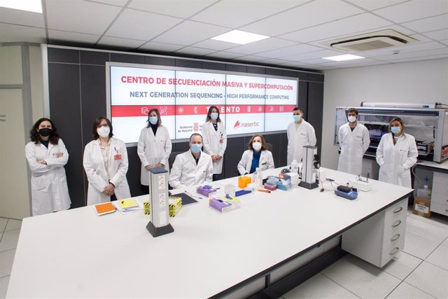 Equipo formado por el personal del Servicio de Microbiología Clínica del Complejo Hospitalario de Navarra (CHN) y de la empresa pública NASERTIC.